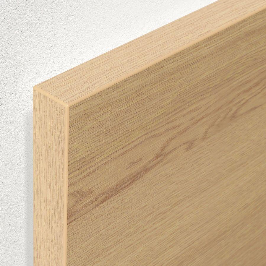Malm Cadre Lit Coffre Plaque Chene Blanchi 160x200 Cm Ikea