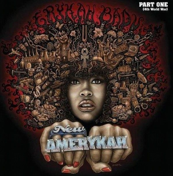 New Amerykah Erykah Badu Cool Album Covers Erykah Badu Albums