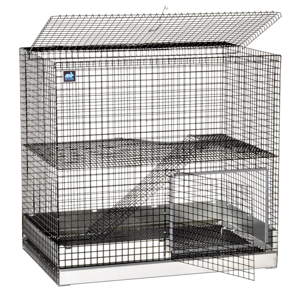 2-Story Metro Condo Rabbit Cage from KW Cages   Rabbit cages, Condos ...