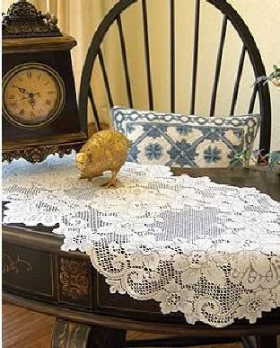 Cleremont Table Lace By Heritage Lace Heritage Lace,table Runners,doilies, Table