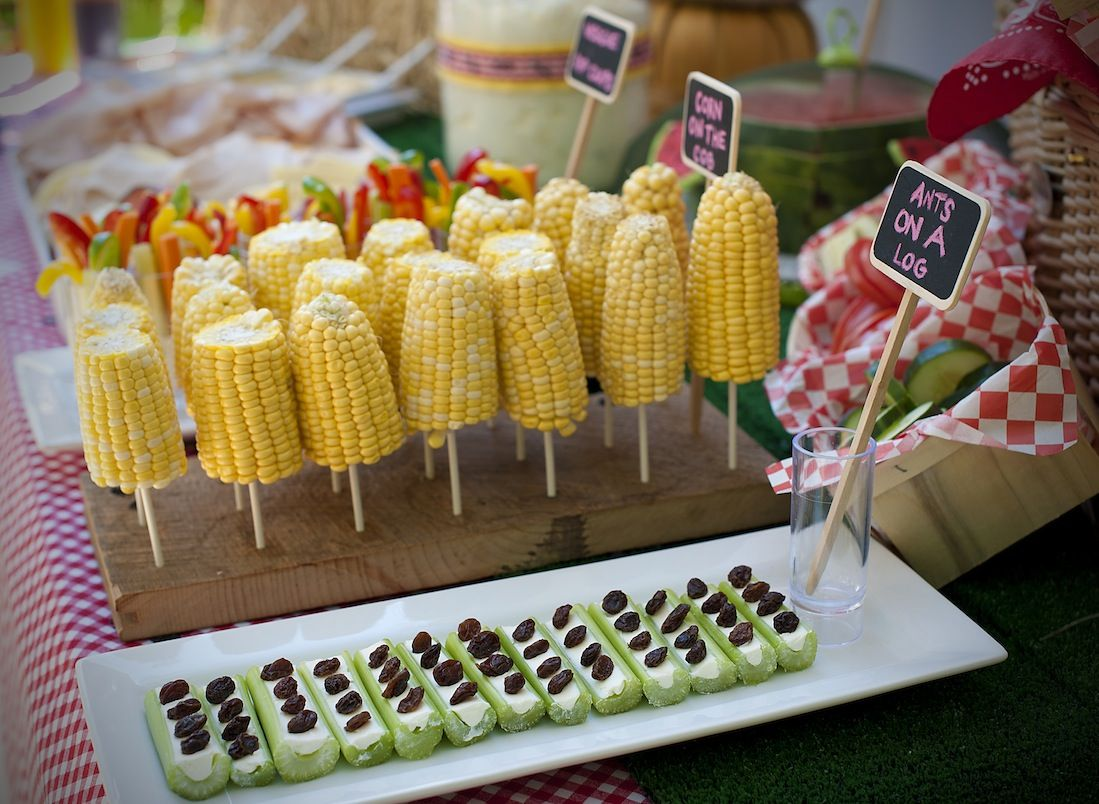 Neat different way to serve handle corn on the cob for What to serve at a bbq birthday party