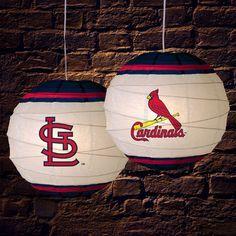 St Louis Cardinals Products | St Louis Cardinals Rice Paper Hanging Lamp