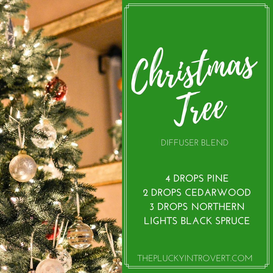 10 Easy Holiday Diffuser Blends You Ll Love This Winter Christmas Diffuser Blends Diffuser Blends Christmas Tree Essential Oil