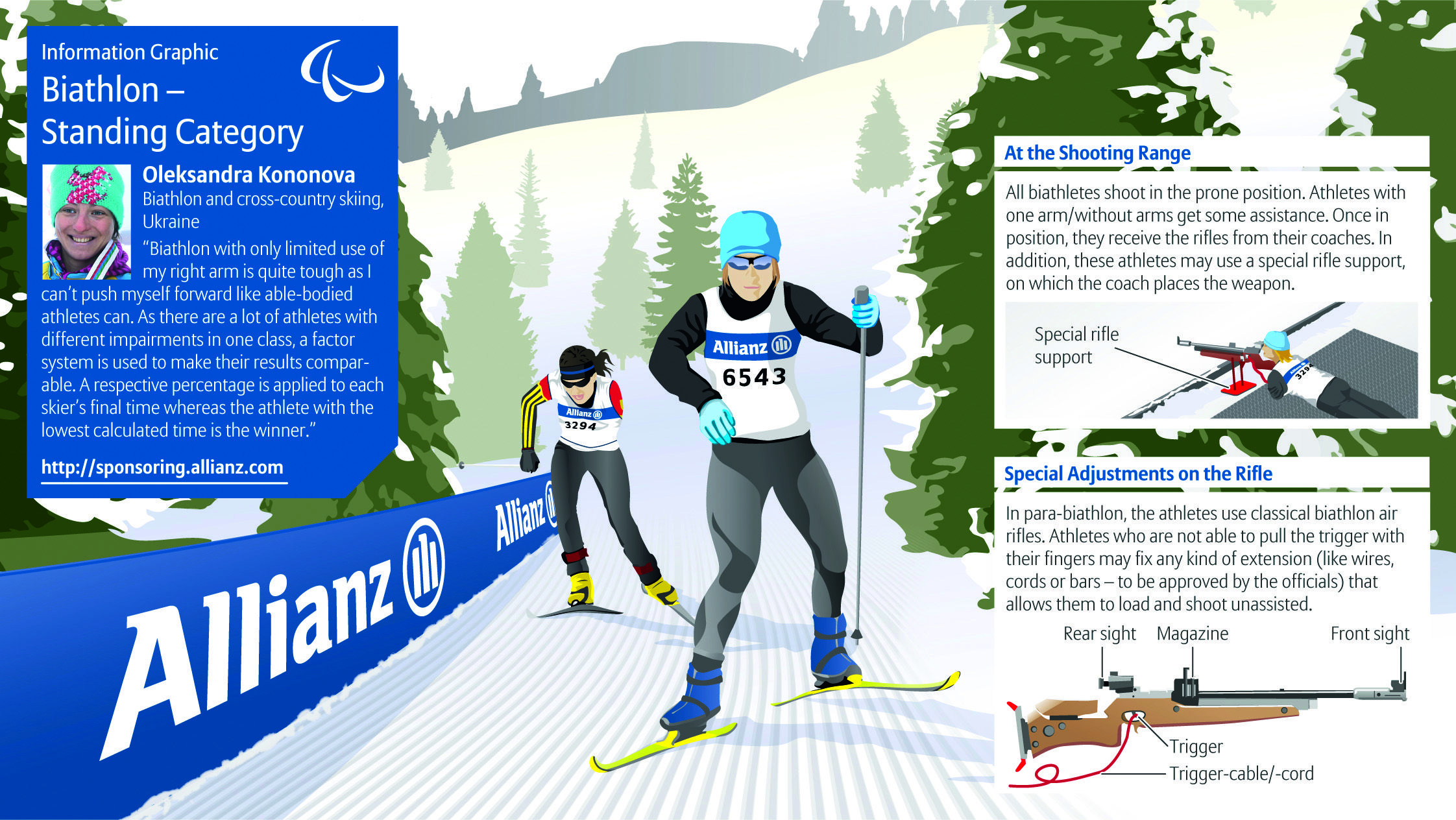 Adaptive Biathlon is just one of the 40+ sports offered by