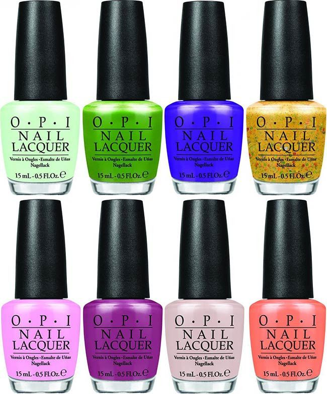 Opi Hawaii Collection For Spring Summer 2015 Halal Nail