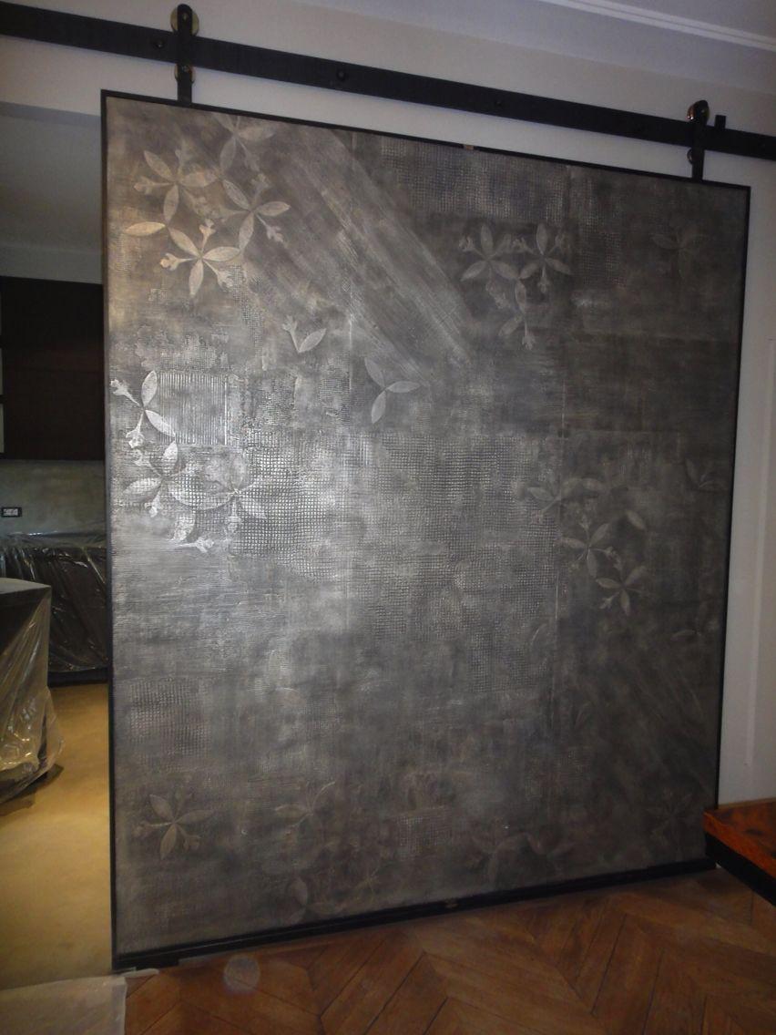 Parete Divisoria Con Porta Scorrevole porta scorrevole ferro, legno, resina (con immagini) | porte
