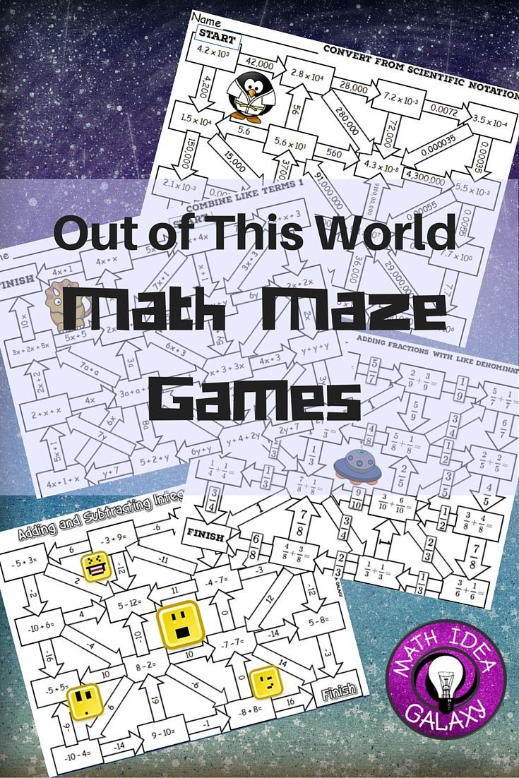 Using Maze Games in the Middle School Math Classroom ...