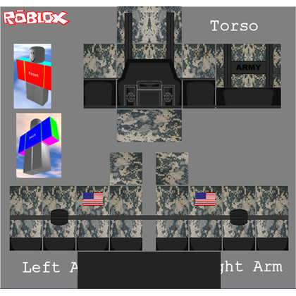 Roblox Military Template Casas Look