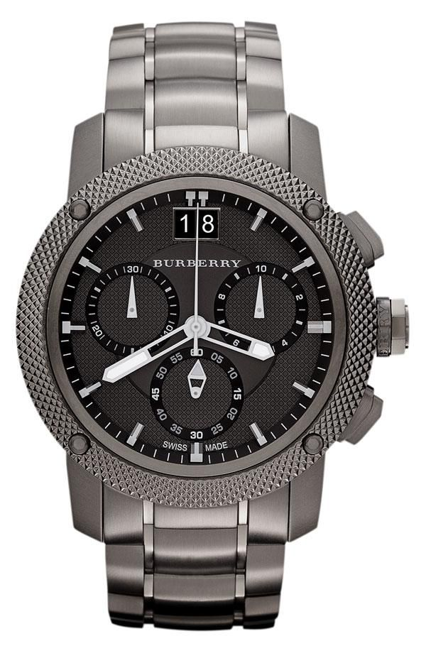 Cyber Monday deal: Burberry chronograph bracelet watch