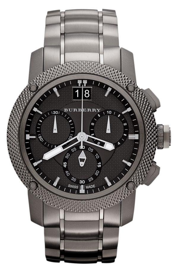 8b945cbdd06 Cyber Monday deal  Burberry chronograph bracelet watch