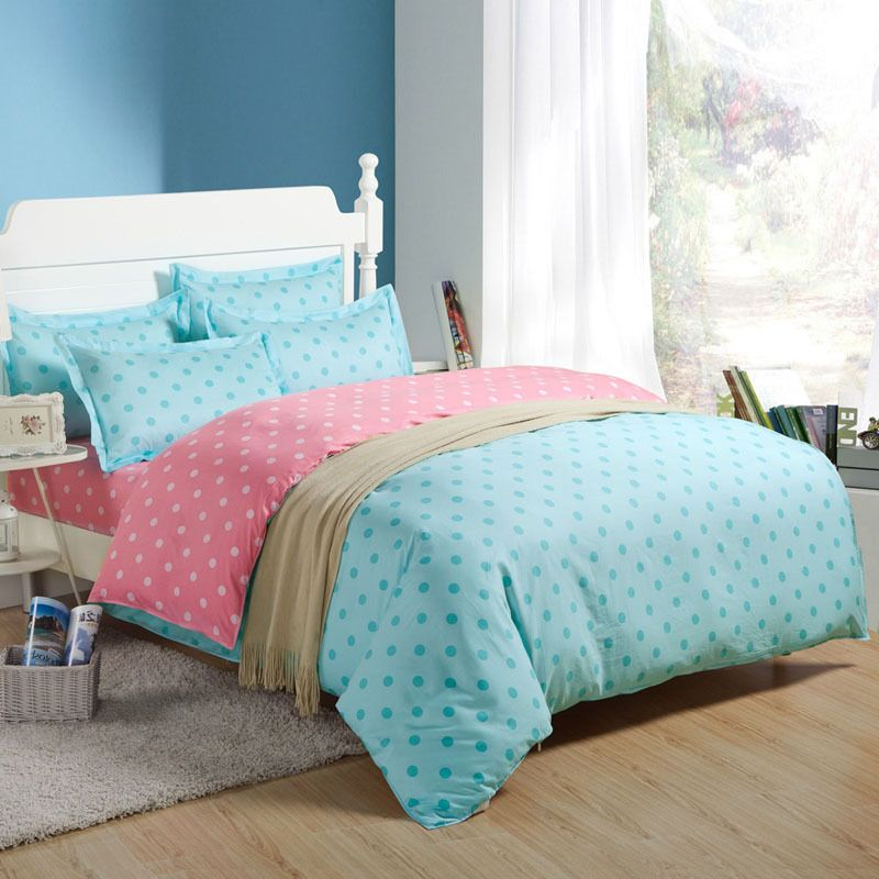 Dot Cotton Bed Sheets King Size,100% Cotton King Size Fitted Type Bed Sheet