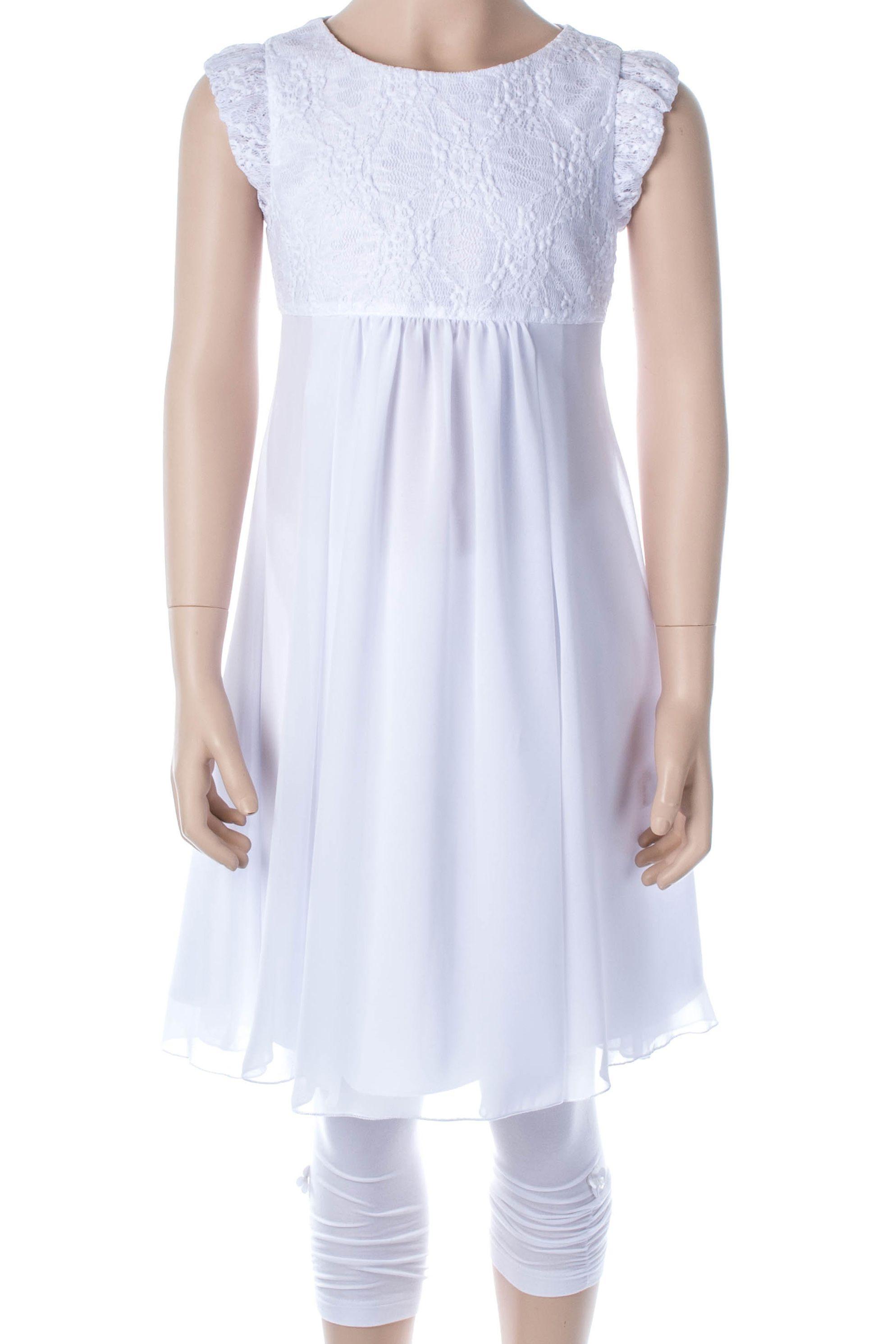 Freches Kommunionkleid Knielanges Kleid von Bian Corella Slim ...