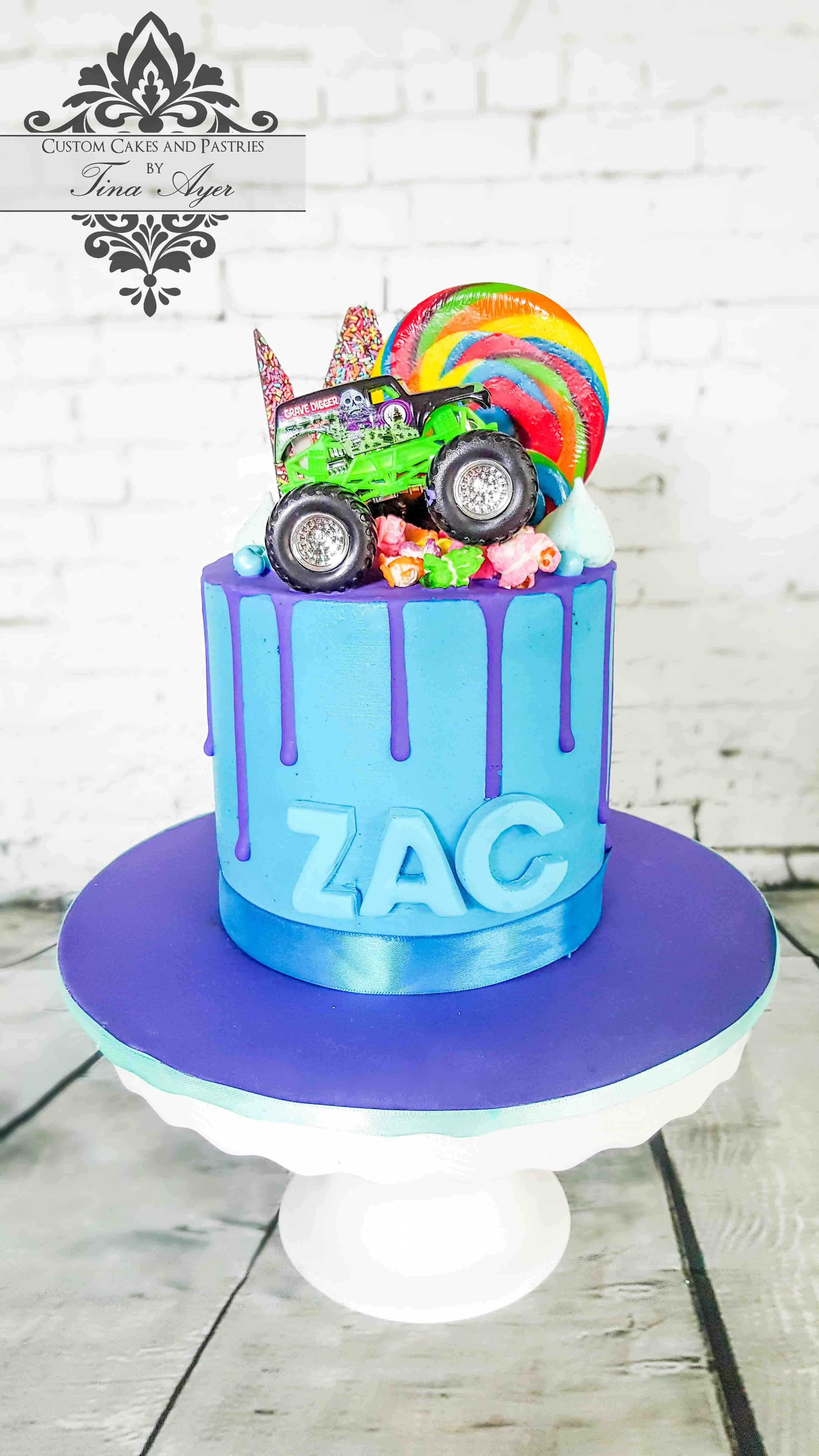 Drip Cake Monster Truck By Tina Ayer Melbourne Www
