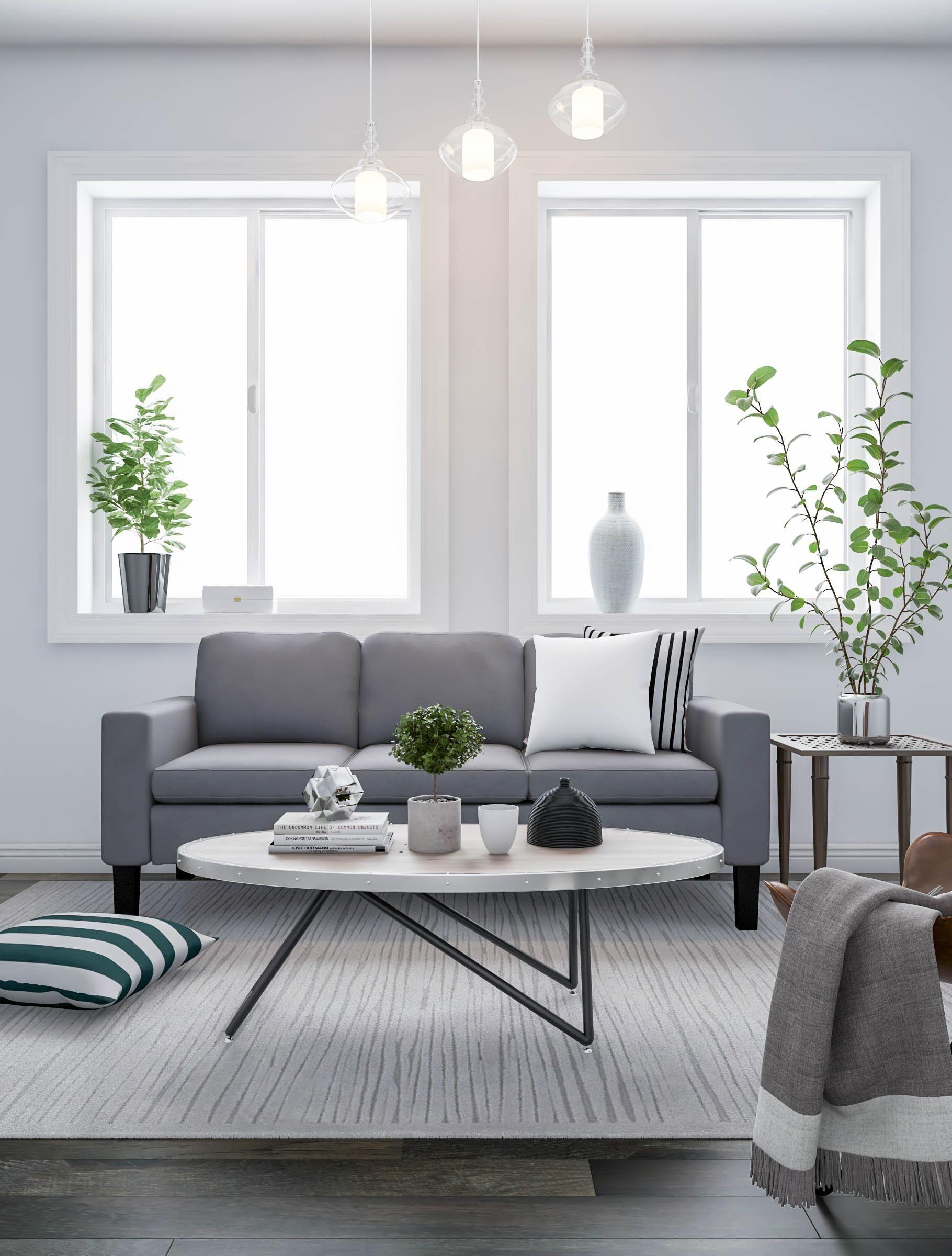 Airy Gray Living Room Brown Living Room Decor Grey Floo