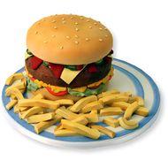 Gourmet Burger Cake