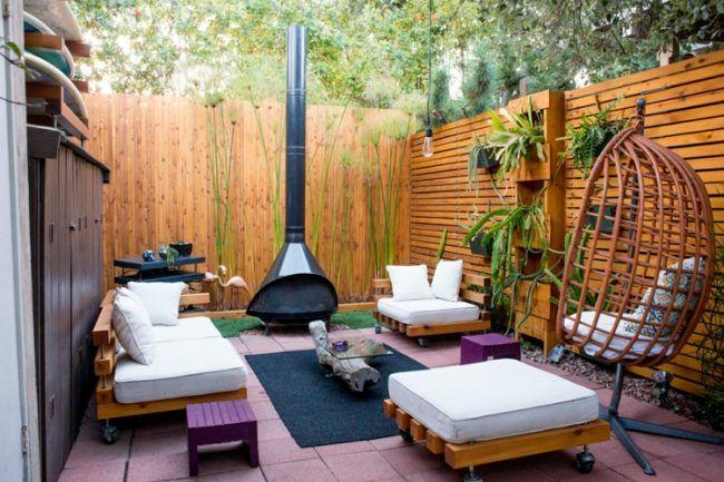 Gartenlounge holz  garten lounge modern-holz-polster-weiss-purpur-moebel ...