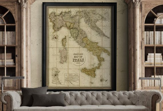 Similar To Restoration Hardware Maps But Not Affiliated With Or