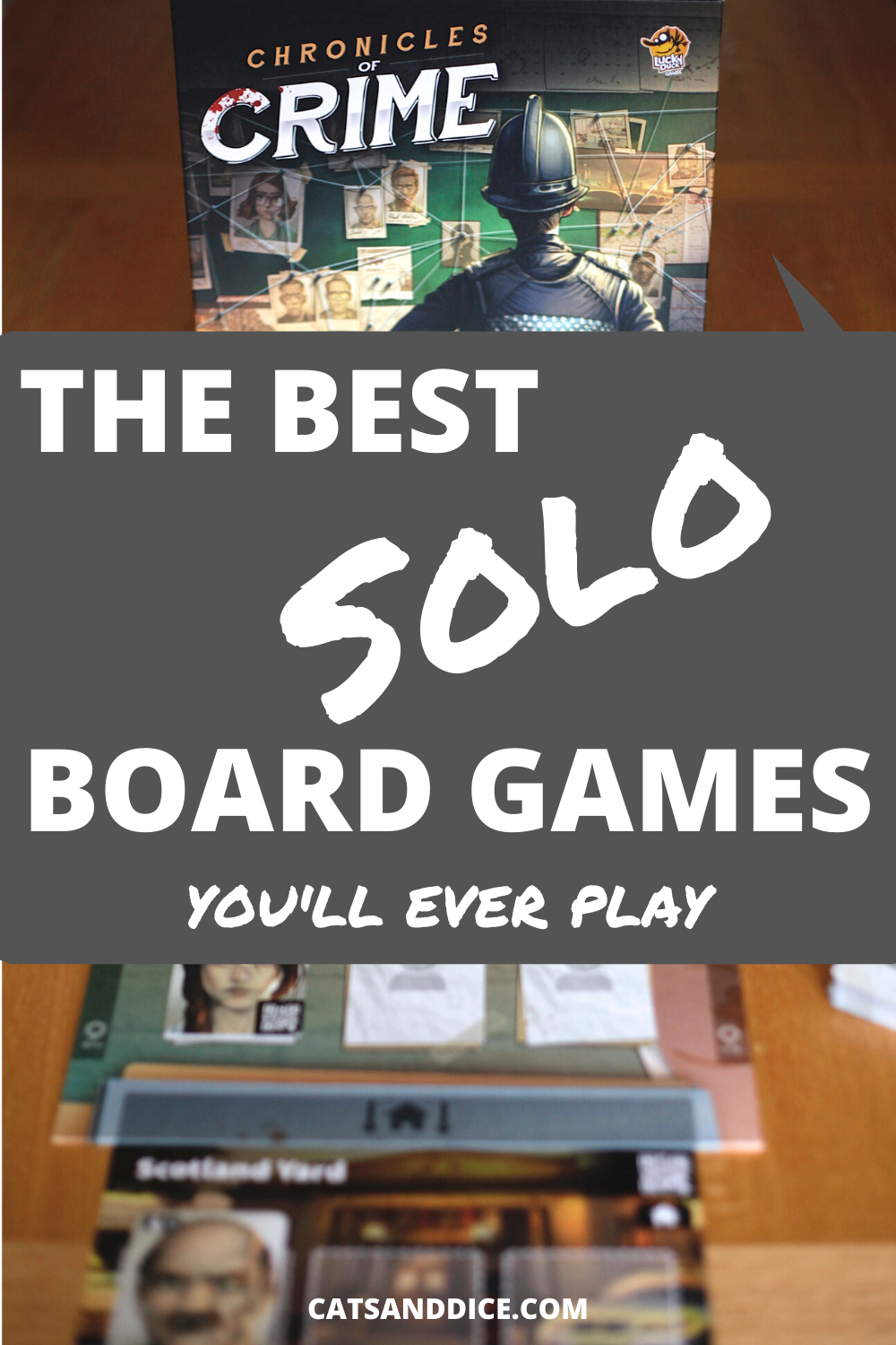 Board games for one? You bet! These are some of the best