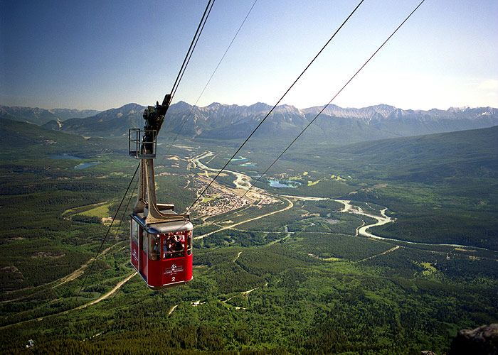 Jasper Tramway Ride | Alberta travel, National park tours, National parks