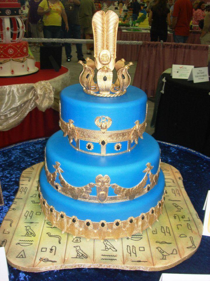 Phenomenal Egyptian Theme Cake Egyptian Party Egyptian Themed Party Funny Birthday Cards Online Necthendildamsfinfo