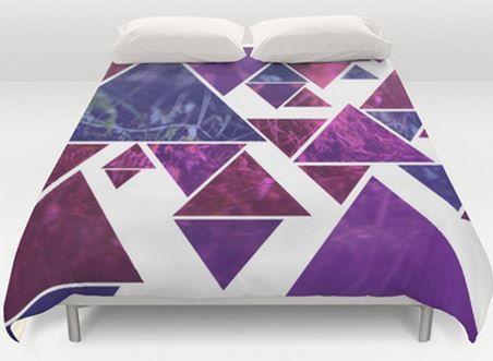 Purple  Duvet Cover  Bed Cover  Duvet Cover by ShelleysCrochetOle, $159.00