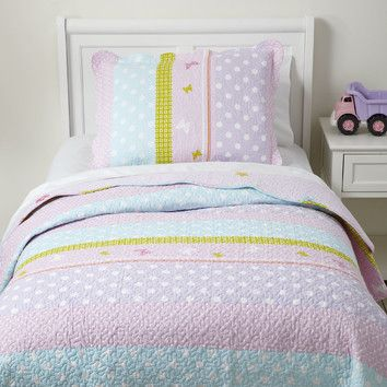 You'll love the Pretty Polka Quilted Bedding Set at Birch Lane - With Great Deals on all products and Free Shipping on most stuff, even the big stuff.