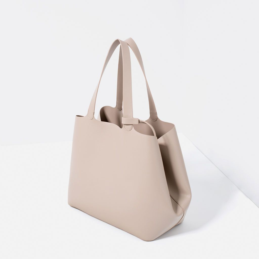 58d8b2bd829 CONTRASTING TOTE BAG-View all-WOMAN-NEW IN | ZARA United Kingdom ...