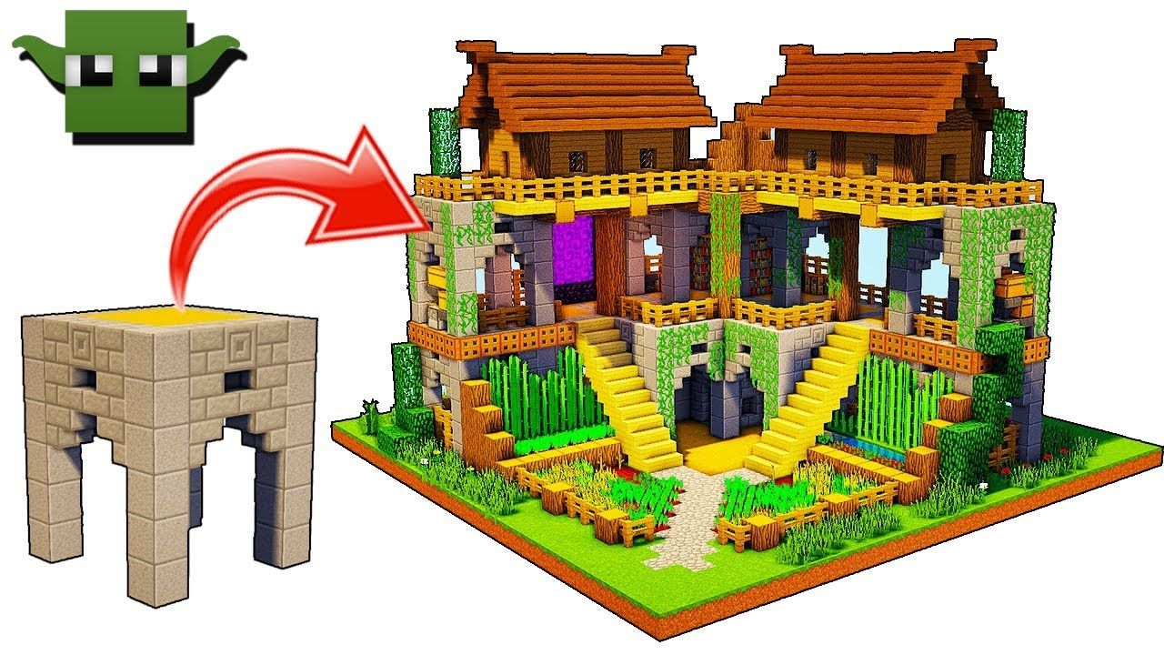 how to build a hidden base in minecraft