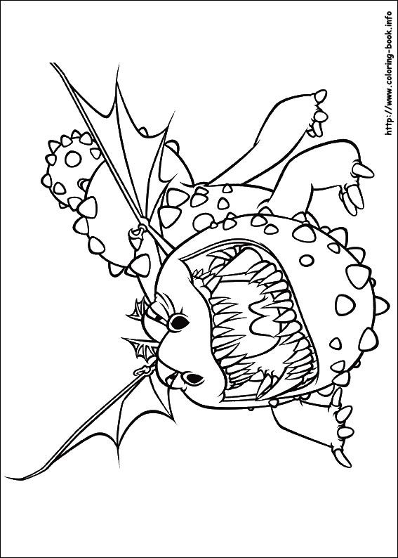 520+ Coloring Book How To Train Your Dragon Picture HD