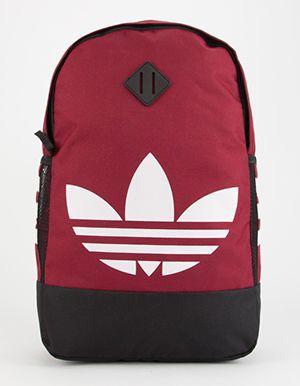 678f0d2177 ADIDAS Originals Trefoil Backpack Burgundy