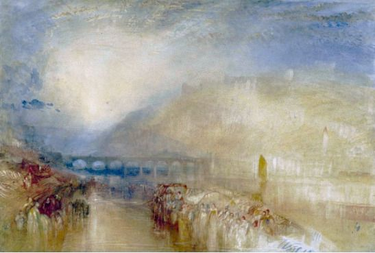 In Turner S Footsteps At Heidelberg Part 5 Joseph Mallord William Turner J M W Turner Heidelberg