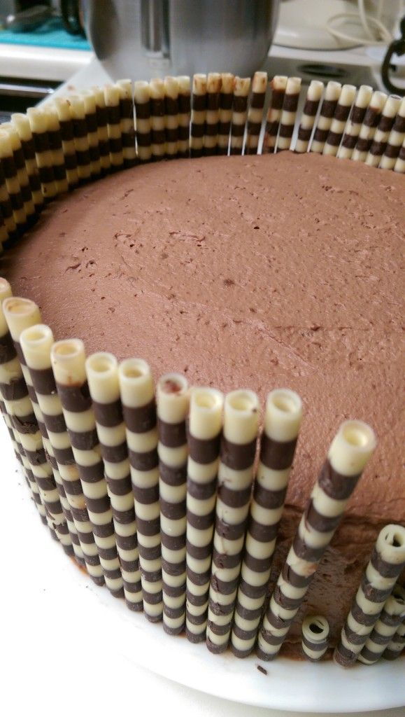 Chocolate Mousse Cake ~ Becky's Baking Adventures