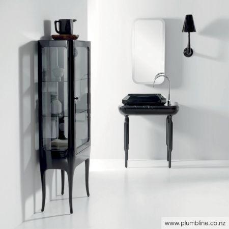 Hayon Small Gl Cabinet Diamante Bathroom Furniture