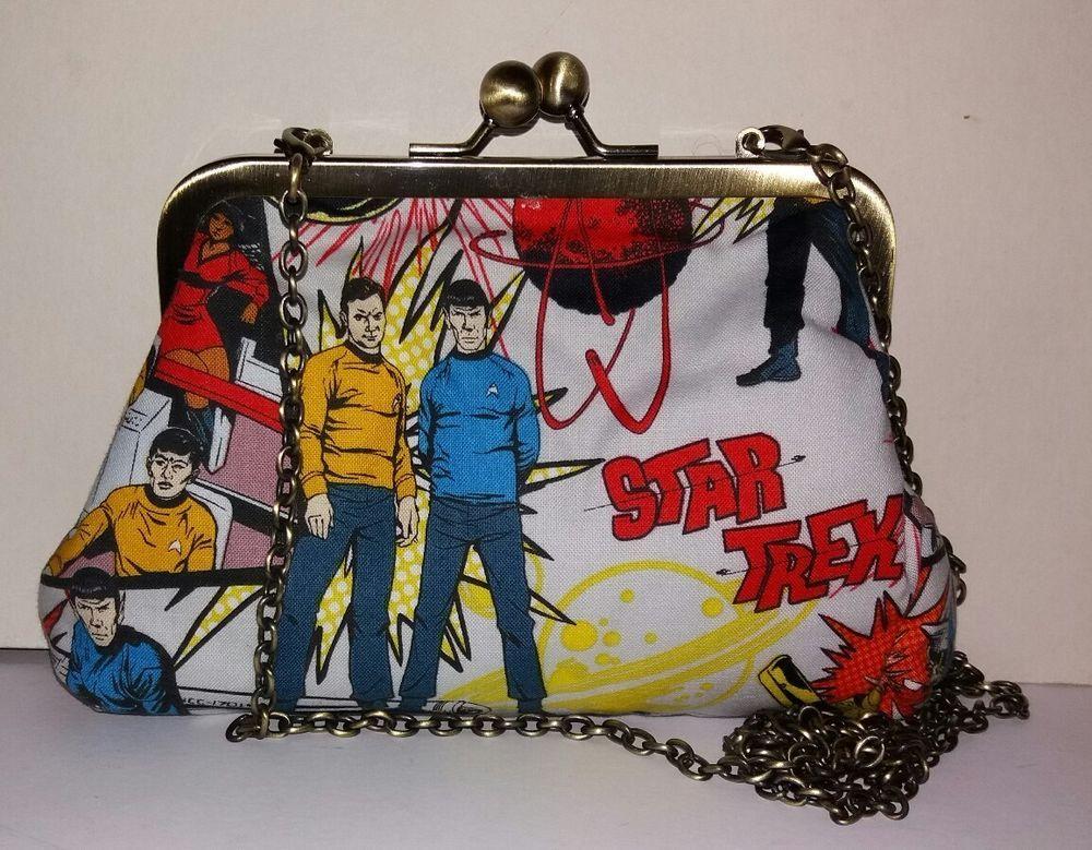 Star trek original series spock kirk pop art handmade by