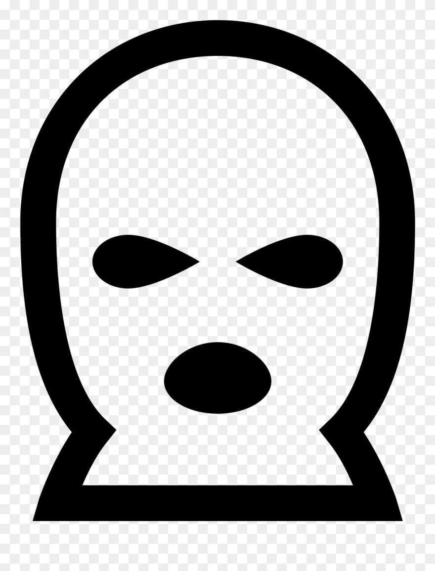 Download This Is An Icon Of A Ski Mask Ski Mask Svg Clipart 1093876 Pinclipart Clip Art Ski Mask Free Clip Art