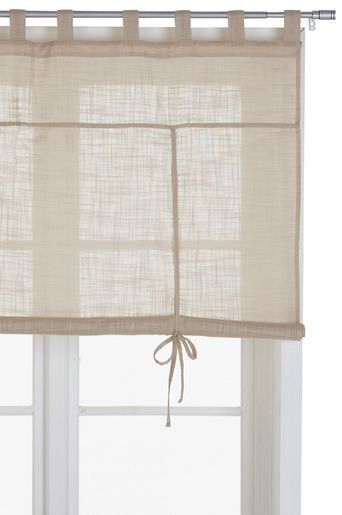 Ellos Cotton Roll Up Blind Window Blind Cortinas