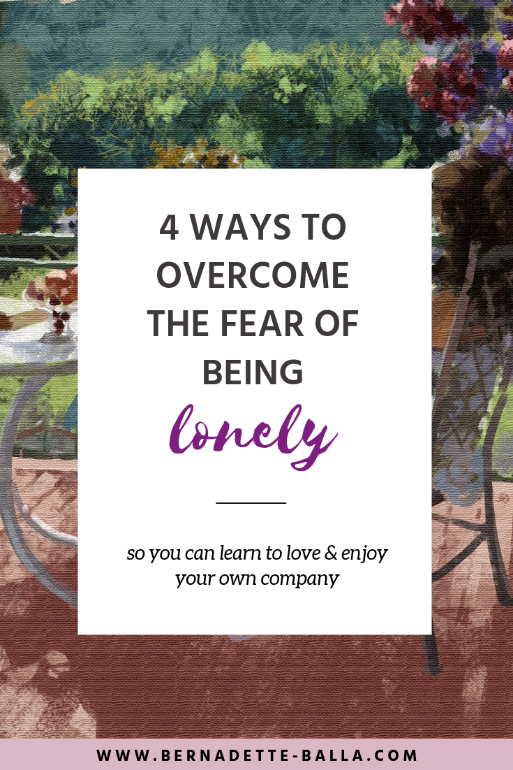 how to conquer fear of being alone