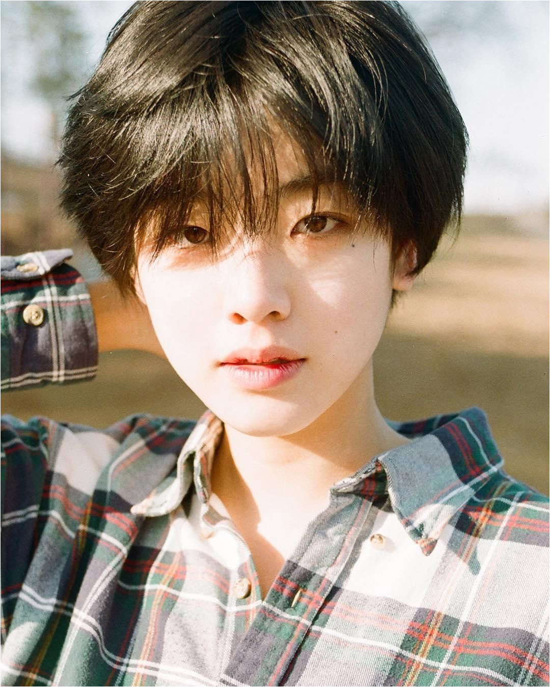 asian Hair Male Beautiful tomboy  in 12  Korean short hair
