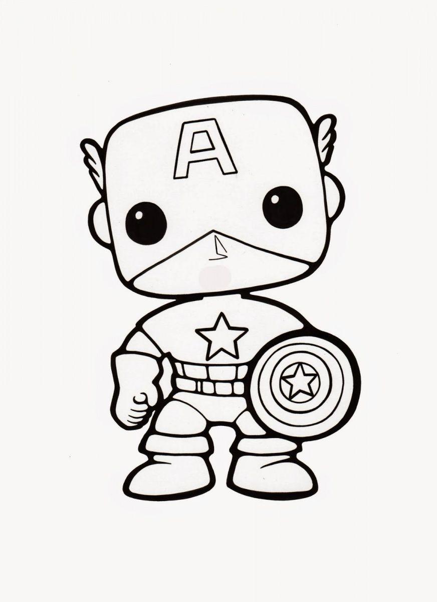 Aqui Tienes Funko Pop Para Colorear Dibujar O Pintar No Entras En 2020 Avengers Para Colorear Kawaii Disney Iron Man Para Colorear