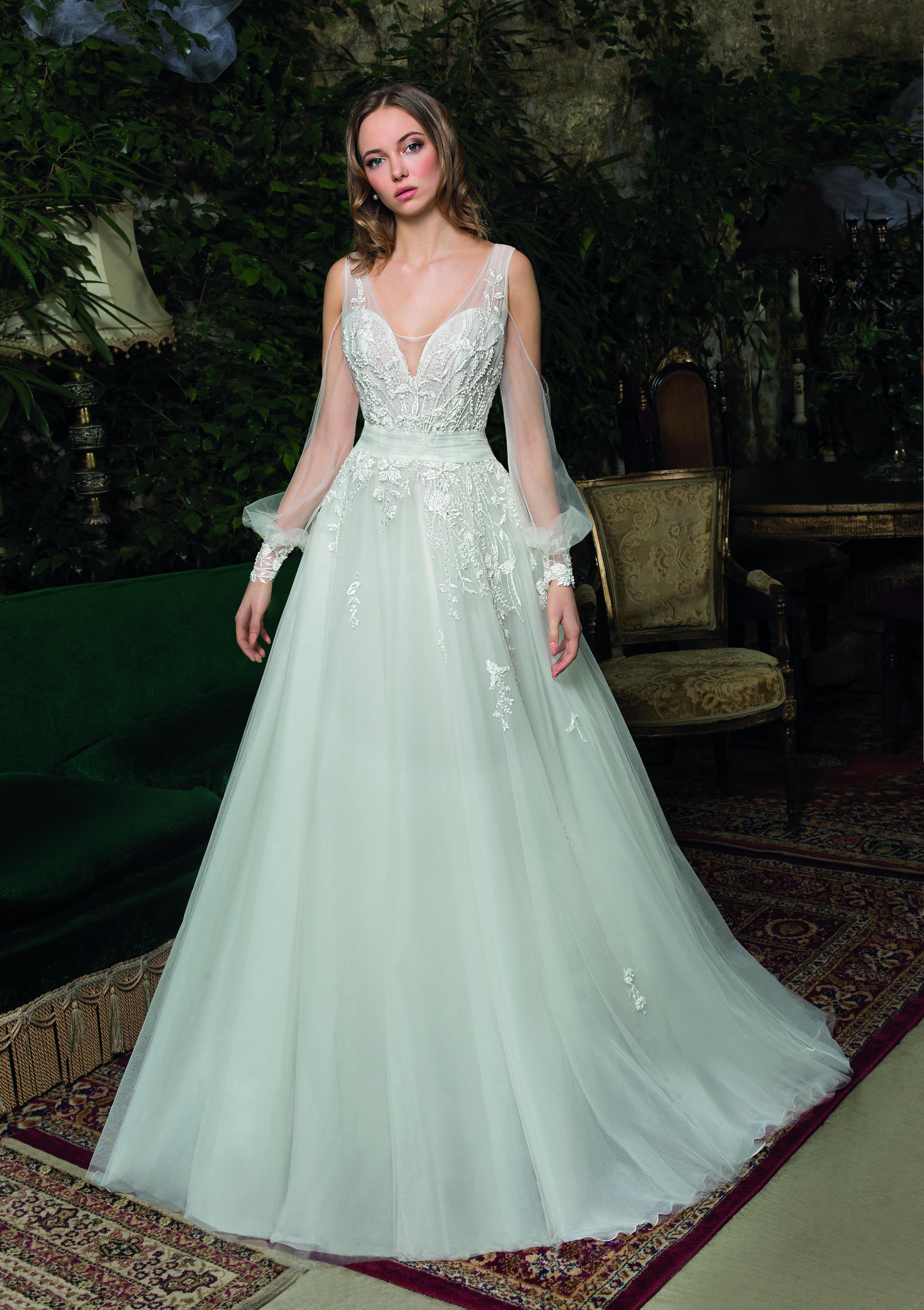 Kleid Modern Sophisticated Bride von Cosmobella  Hochzeitskleider