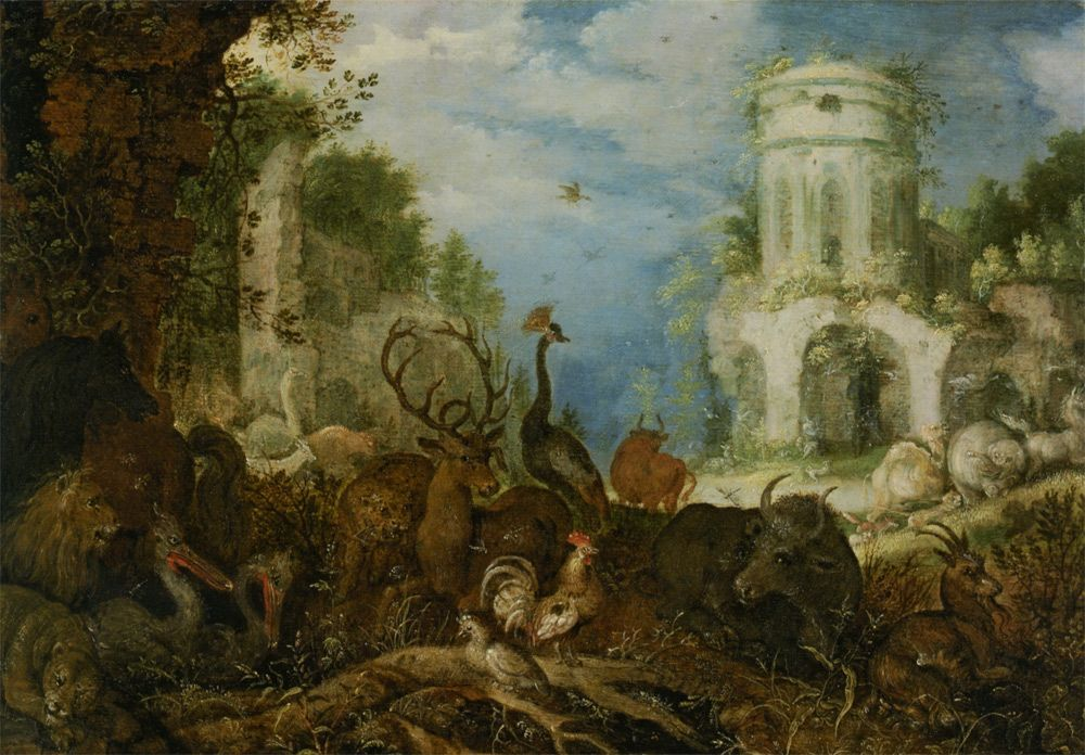 Roelandt Jacobsz Savery Orpheus And The Women Of Thrace The Magic Faraway Tree Painting Art Theme