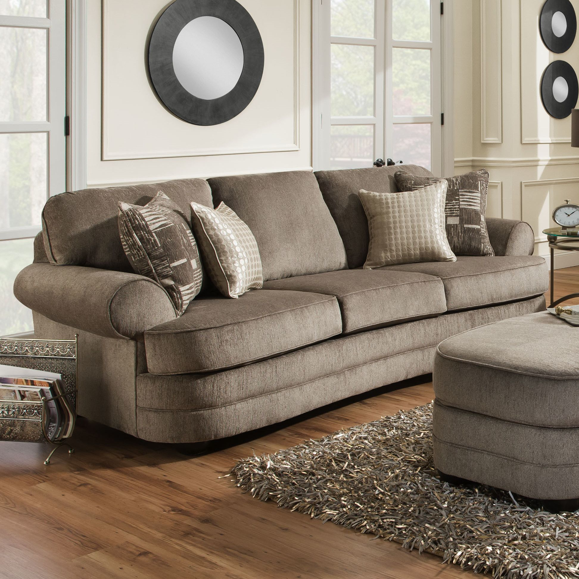 Ashendon 103 Rolled Arms Sofa Sofa Transitional Sofas Royal
