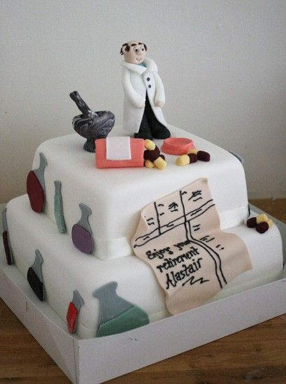 Pharmacist Cake   Cake, Handmade cake, Easy cake decorating