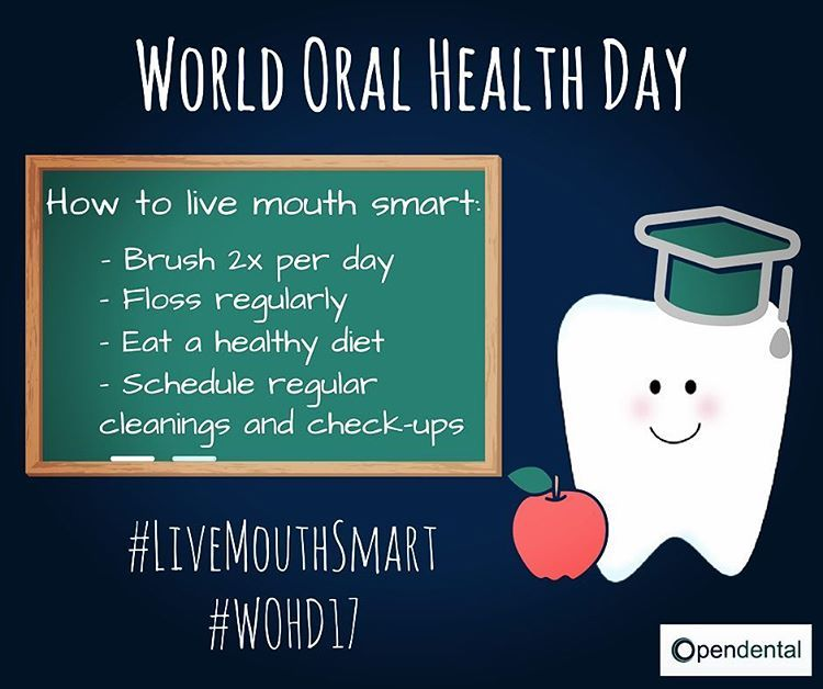 Today is the first day of spring, which is also World Oral Health Day, so basically today is the perfect day to call your dental office and schedule a spring cleaning! #wohd #wohd17 #worldoralhealthday #livemouthsmart #firstdayofspring #happyspring #dentaloffice #oralhealth #brushyourteeth #floss #eatwell #dentistry #springcleaning #opendental