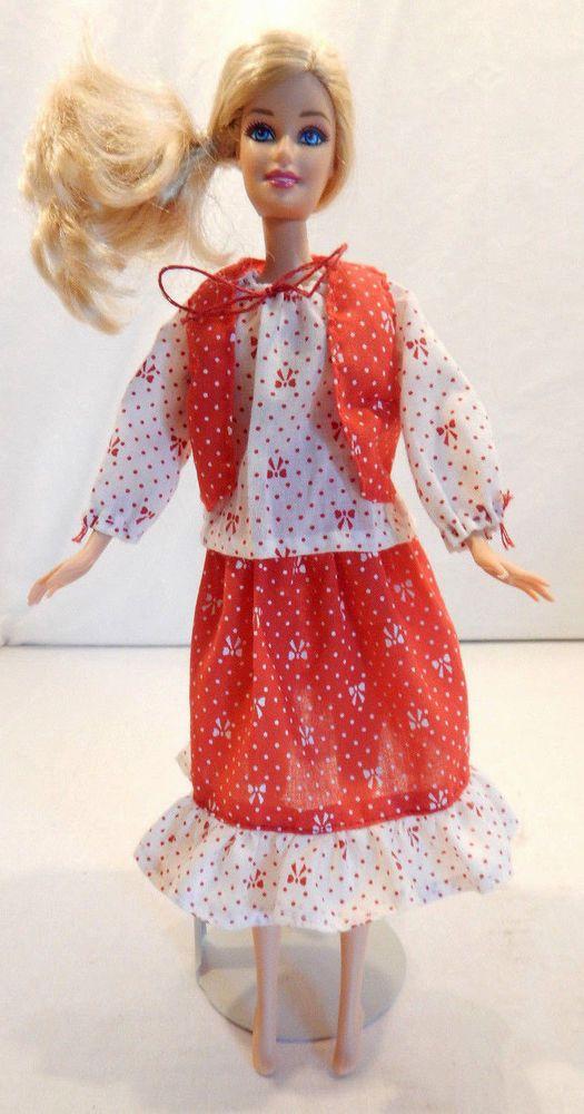 Vintage 60s 70s Barbie Midge Francie OOAK Handmade Clone Clothes