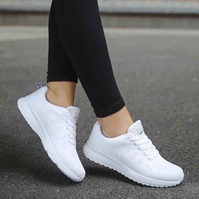 Casual Tenis Comfortable Breathable Shoes em 2020 | Sapatos