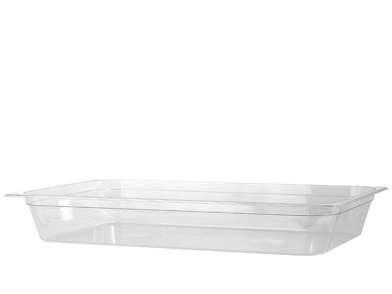 Vogue Stainless Steel 1 1 Gastronorm Pan 65mm K903 Catering Equipment Stainless Steel Food Storage Containers