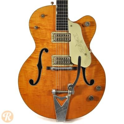 The first of several Gretsch guitars with the endorsement of country legend Chet…