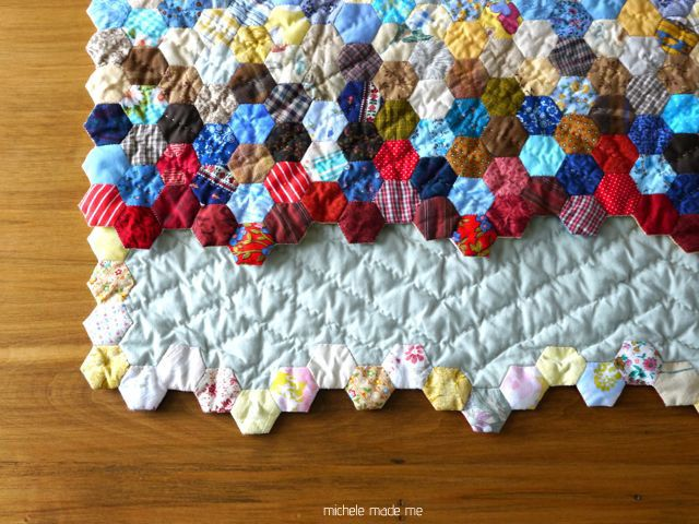 michele made me: Quilts | Quilt Ideas | Pinterest | Hexagon ... : finishing quilt - Adamdwight.com