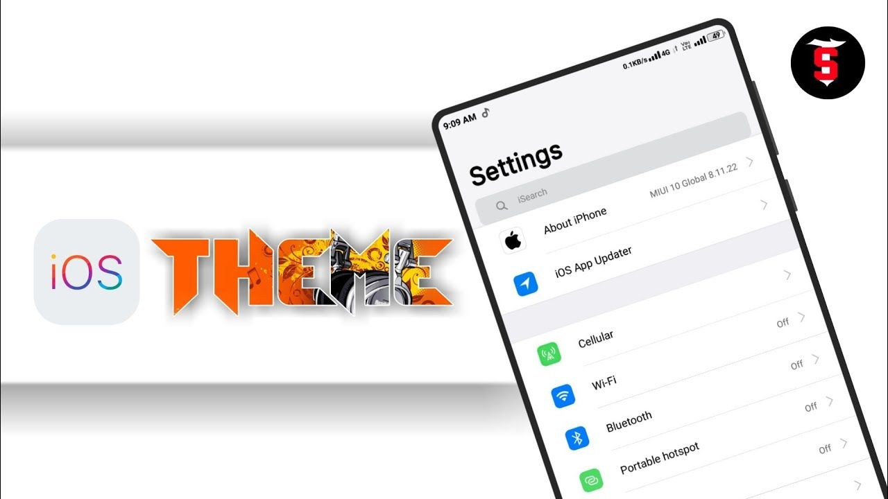 Best iOS Theme for Miui 10 | Change all Xiaomi Phones into